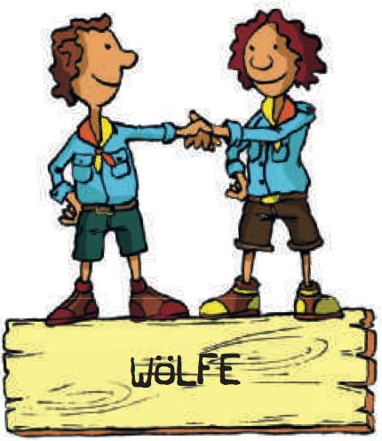 Logo Wölfe