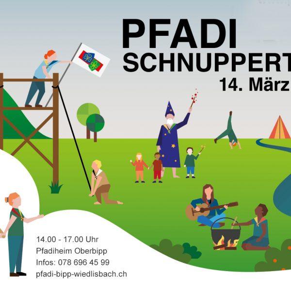Schnuppernachmittag der Pfadi Bipp-WIedlisbach (Pfaditag)